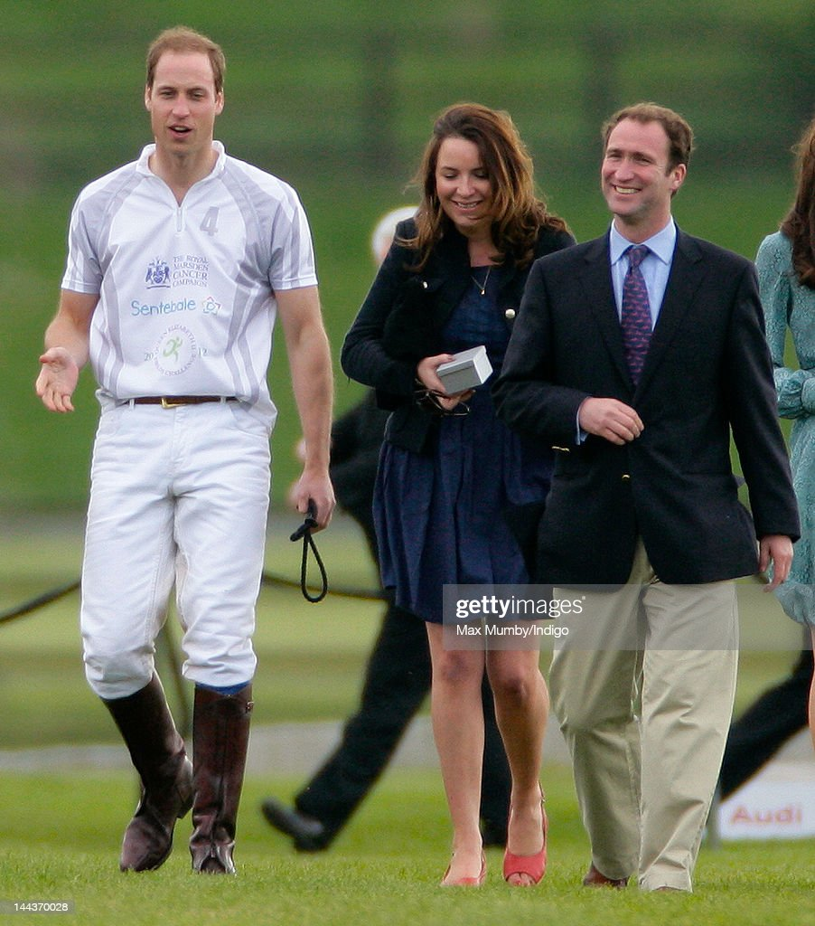 <a gi-track='captionPersonalityLinkClicked' href=/galleries/search?phrase=Prince+William&family=editorial&specificpeople=178205 ng-click='$event.stopPropagation()'>Prince William</a>, Duke of Cambridge, Rebecca Deacon (The Cambridge's Deputy Private Secretary) and Andrew Tucker (the Prince's Polo Manager) attend the Audi Polo Challenge charity polo match, in which <a gi-track='captionPersonalityLinkClicked' href=/galleries/search?phrase=Prince+William&family=editorial&specificpeople=178205 ng-click='$event.stopPropagation()'>Prince William</a>, Duke of Cambridge and Prince Harry competed, at Coworth Park Polo Club on May 13, 2012 in Ascot, England.