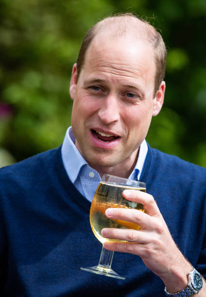 GBR: The Duke Of Cambridge Visits A Pub Ahead Of Reopening