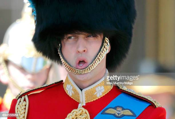 Prince William Duke of Cambridge takes part in The Colonel's Review on June 10 2017 in London England The Colonel's Review is the second rehearsal...