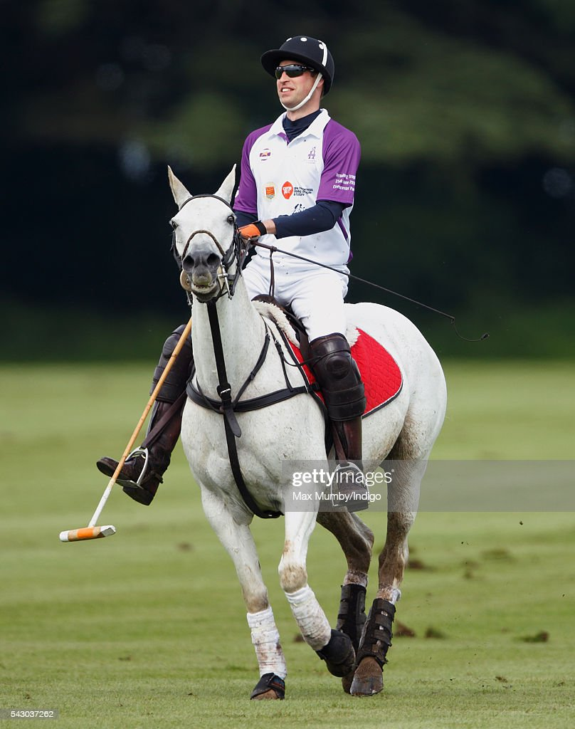<a gi-track='captionPersonalityLinkClicked' href=/galleries/search?phrase=Prince+William&family=editorial&specificpeople=178205 ng-click='$event.stopPropagation()'>Prince William</a>, Duke of Cambridge takes part in the Jerudong Trophy polo match at Cirencester Park Polo Club on June 25, 2016 in Cirencester, England.