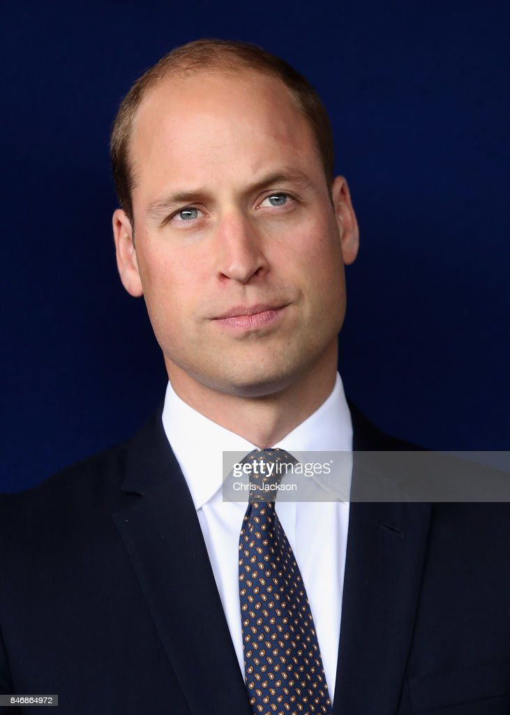 Prince William, Duke of Cambridge visits Aintree University Hospital on September 14, 2017 in Liverpool, England. The Duke visited Aintree University Hospital to formally open the new Urgent Care and Trauma Centre (UCAT). This new unit, serving a catchment area of 2.3m residents in the North West, opened in January 2017 following a £35m redevelopment.