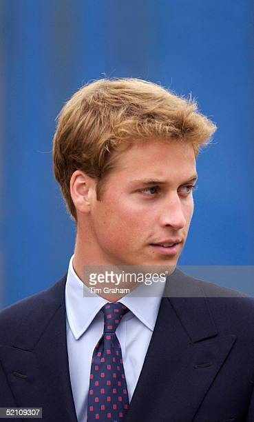 Prince William Looking Serious Whilst Visiting Scotland Before Starting University