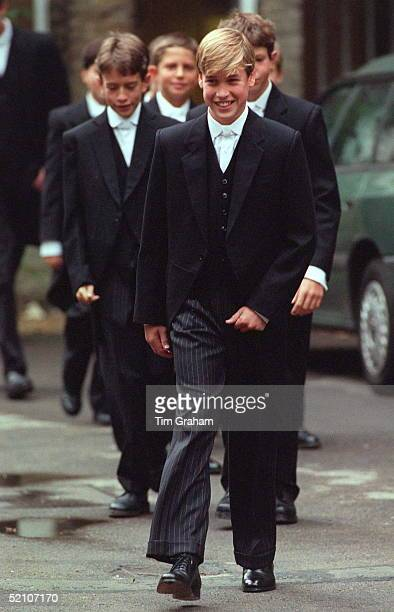 Prince William On His First Day At Eton