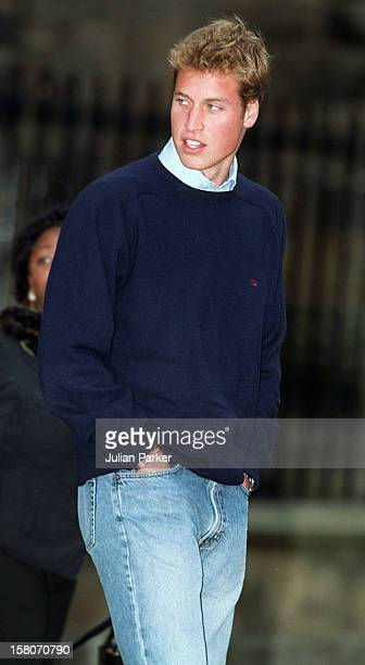 Prince William On His First Day At St Andrews University Scotland