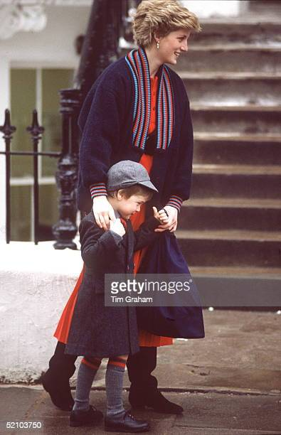 Prince William On His First Day At Wetherby School