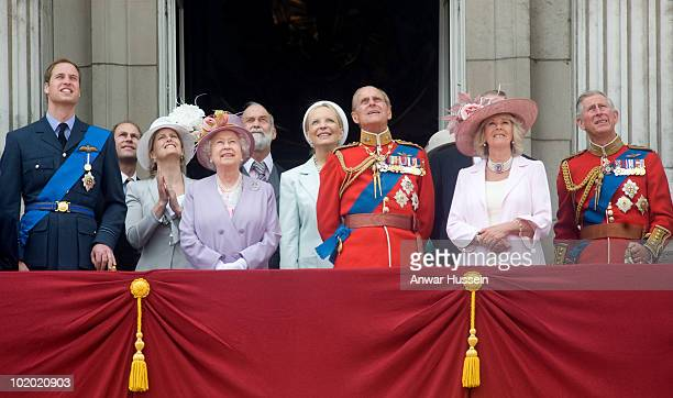 Prince William Prince Edward Earl of Wessex Sophie Countess of Wessex Queen Elizabeth ll Prince and Princess Michael of Kent Prince Philip Duke of...