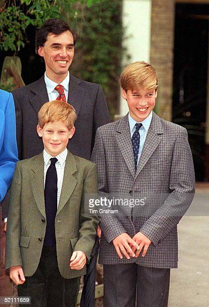 Prince William Prince Harry On Prince William's 1st Day At Eton