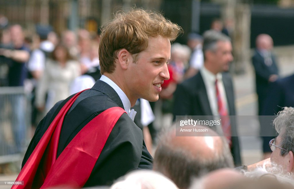 Prince William Receives His Master of Arts Degree in Geography