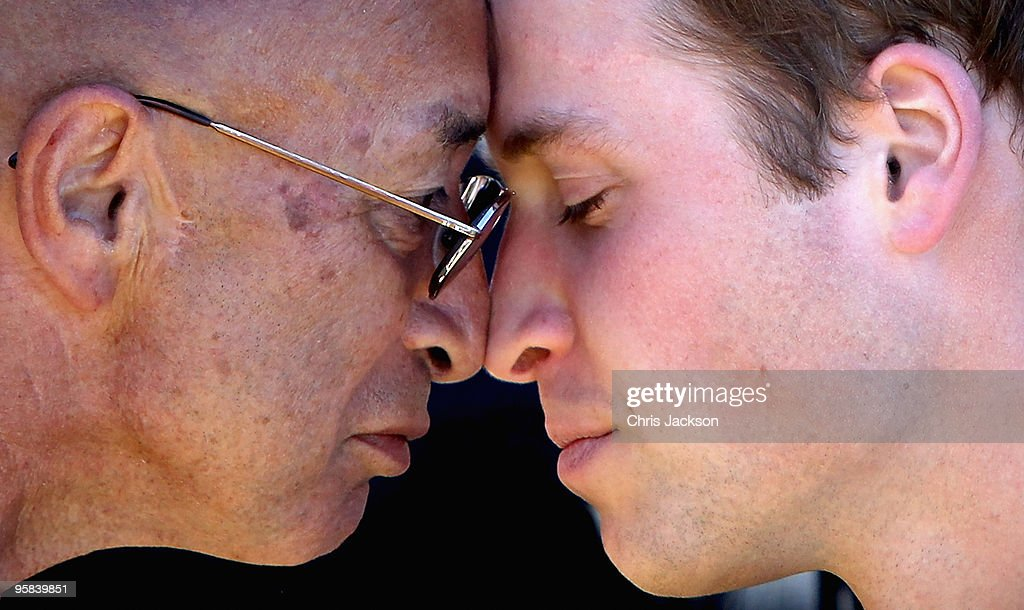 <a gi-track='captionPersonalityLinkClicked' href=/galleries/search?phrase=Prince+William&family=editorial&specificpeople=178205 ng-click='$event.stopPropagation()'>Prince William</a> takes part in the hongi, a traditional Maori greeting as he arrives Kapiti Island Nature Reserve on the second day of his visit to New Zealand on January 18, 2010 in Wellington, New Zealand. HRH will undertake numerous engagements during his 3 days in New Zealand, before heading off for a further 3 days in Australia. This is the first official overseas visit for the second-in-line to the throne.