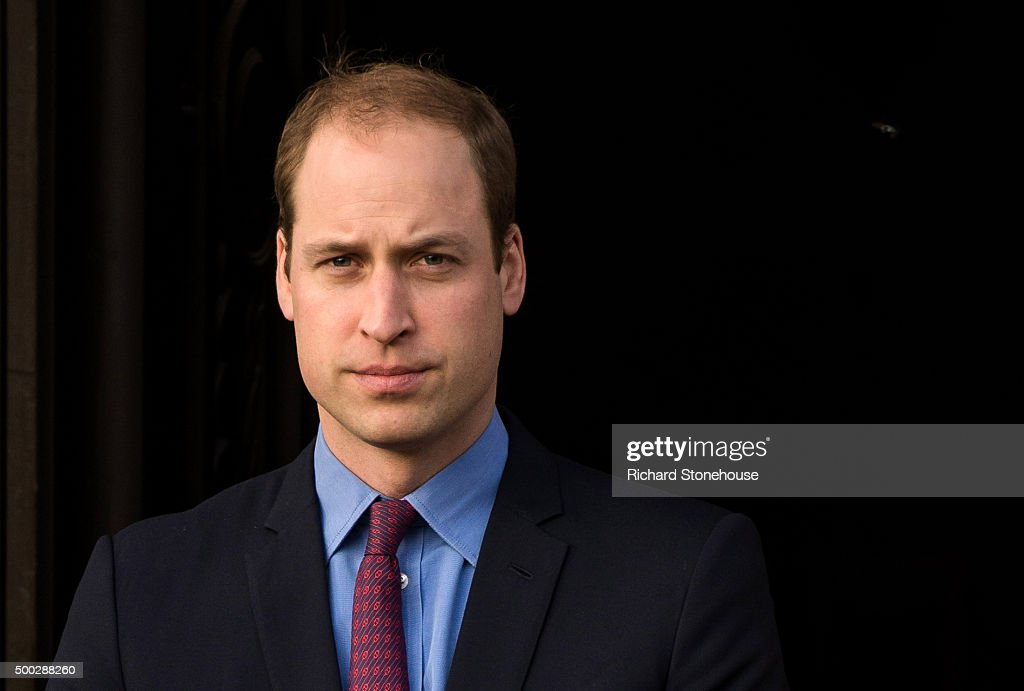 Prince William, The Duke of Cambridge attends the unveiling of The Victoria Cross Commemorative Paving Stones representing each of Birmingham's 1st World War recepients at the Hall of Memory, Centenary Square on December 7, 2015 in Birmingham, England. Ten Stones were unveiled after a short service of memorial by The Bishop of Birmingham The Rt.Rev. David Urquhart with speeches by the Lord Mayor of Birmingham, Councillor Raymond Hassall and Brigadier Anderton-Brown.