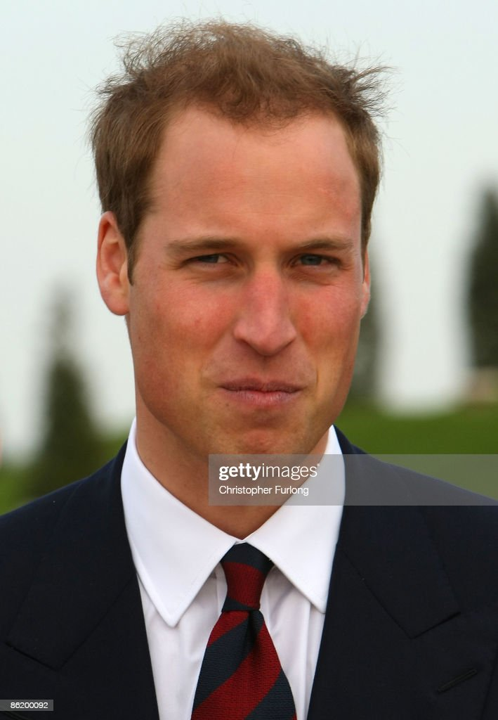 Prince William tours the National Memorial Arboretum where he launched an GBP 8 million appeal to make the Alrewas site a world famous centre for remembrance on April 24, 2009 in Lichfield, England. Prince William was officially made the patron of the Future Foundations Appeal. During the poignant visit he viewed the names of his Sandurst platoon commander Major Alexis Roberts of the 1st Battalion The Royal Gurkha Rifles, killed in Afgahanistan and Intelligence Officer Joanna Dyer who trained in his platoon and killed near Basra.