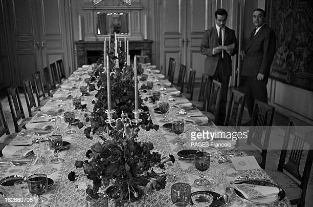 Princely Marriage Of Margrethe Of Denmark And Henri De Monpezat Juin 1967 DANEMARK lors du mariage de Margrethe et Henri de Monpezat Préparatifs du...