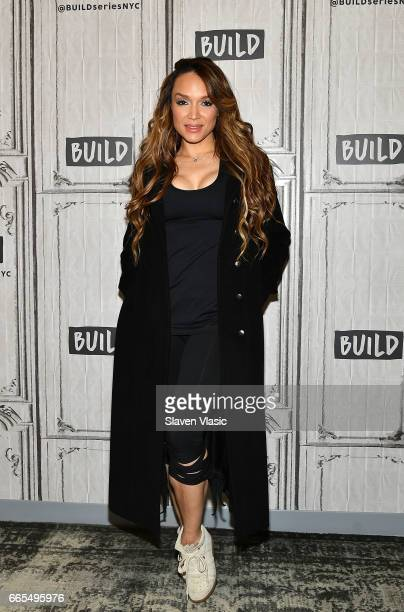 Prince's former wife Mayte Garcia visits Build Series to discuss her book 'The Most Beautiful My Life with Prince' at Build Studio on April 6 2017 in...
