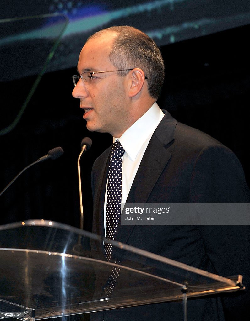 Princes Grace Foundation president John B. Kelly III speaks onstage during the Rodeo Drive Walk Of Style held on Rodeo Drive on October 22, 2009 in Beverly Hills, California.
