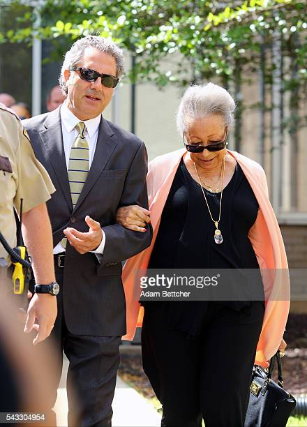 Prince's halfsister Norrine Nelson made her way into the Carver County Justice Center on June 27 2016 in Chaska Minnesota Prince died on April 21...