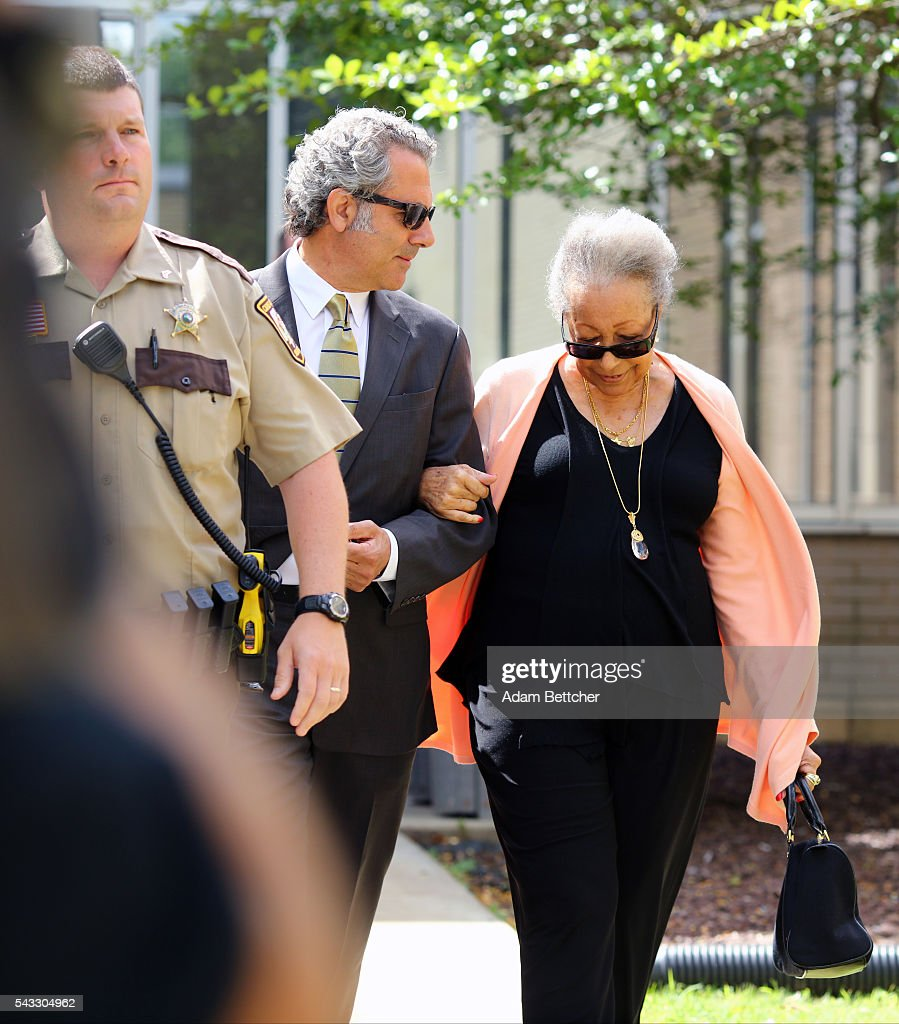 Prince's half-sister Norrine Nelson made her way into the Carver County Justice Center on June 27, 2016 in Chaska, Minnesota. Prince died on April 21, 2016 at his Paisley Park compound at the age of 57.