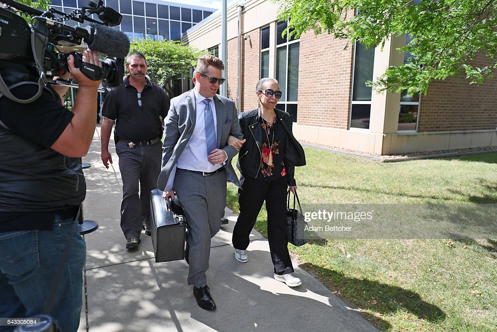 Prince's half-sister Sharon Nelson made her way into the Carver County Justice Center on June 27, 2016 in Chaska, Minnesota. Prince died on April 21, 2016 at his Paisley Park compound at the age of 57.