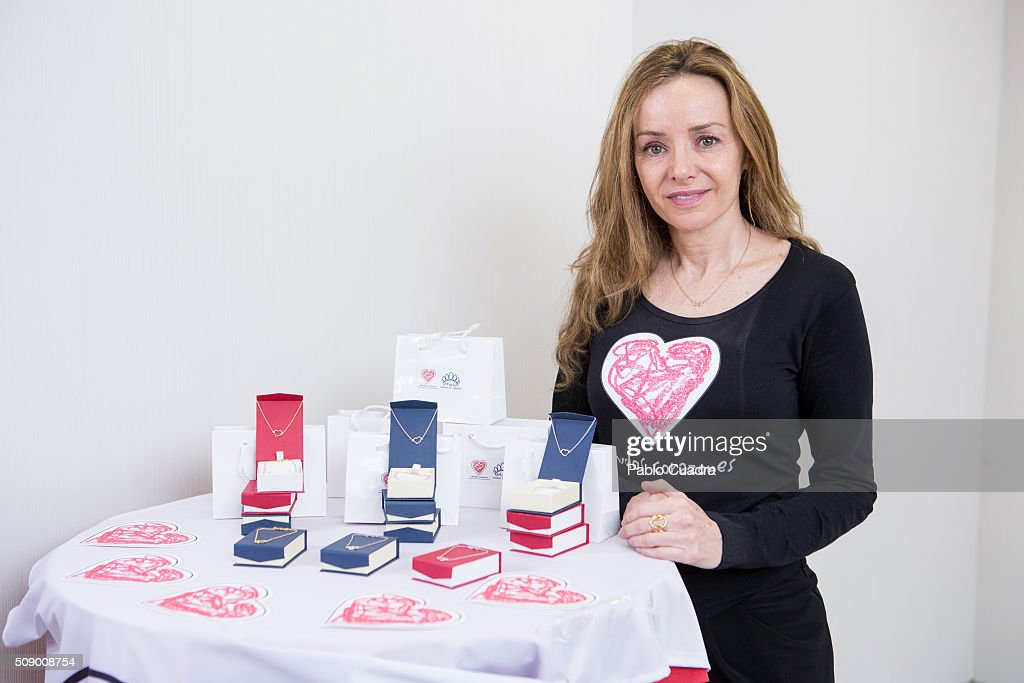 Princes of Tirnovo Miriam de Ungria presents the charity jewels collection 'Emociones' by Menudos Corazones foundation on February 8, 2016 in Madrid, Spain.