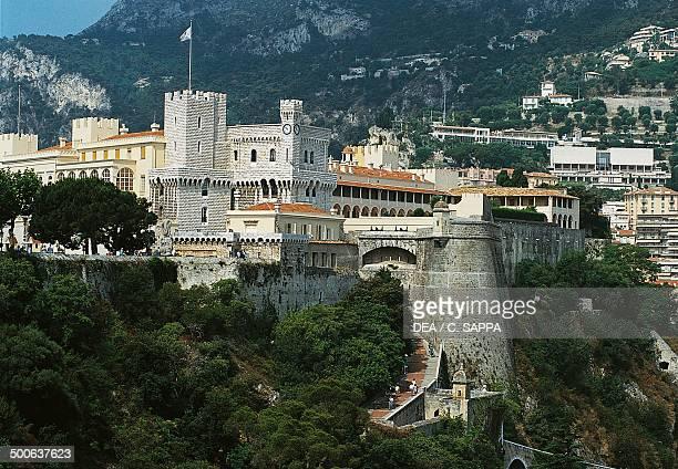 Prince's palace of Monaco or Grimaldi palace Monte Carlo Principality of Monaco 12th19th century