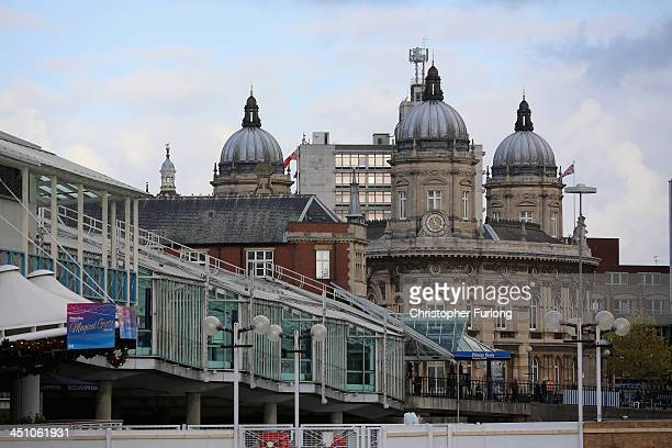 Prince's Quay shopping centre and the Hull Maritime Museum are seen after the city was announced as the 2017 UK City of Culture on November 21 2013...