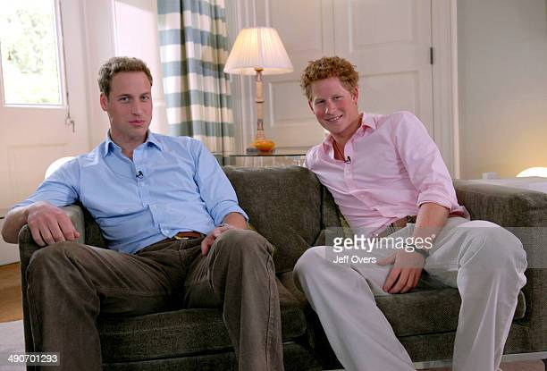 BBC ONE Friday 29th June 2007 Princes William and Harry discuss their mother's life and legacy in a rare interview before Sunday's Concert for Diana