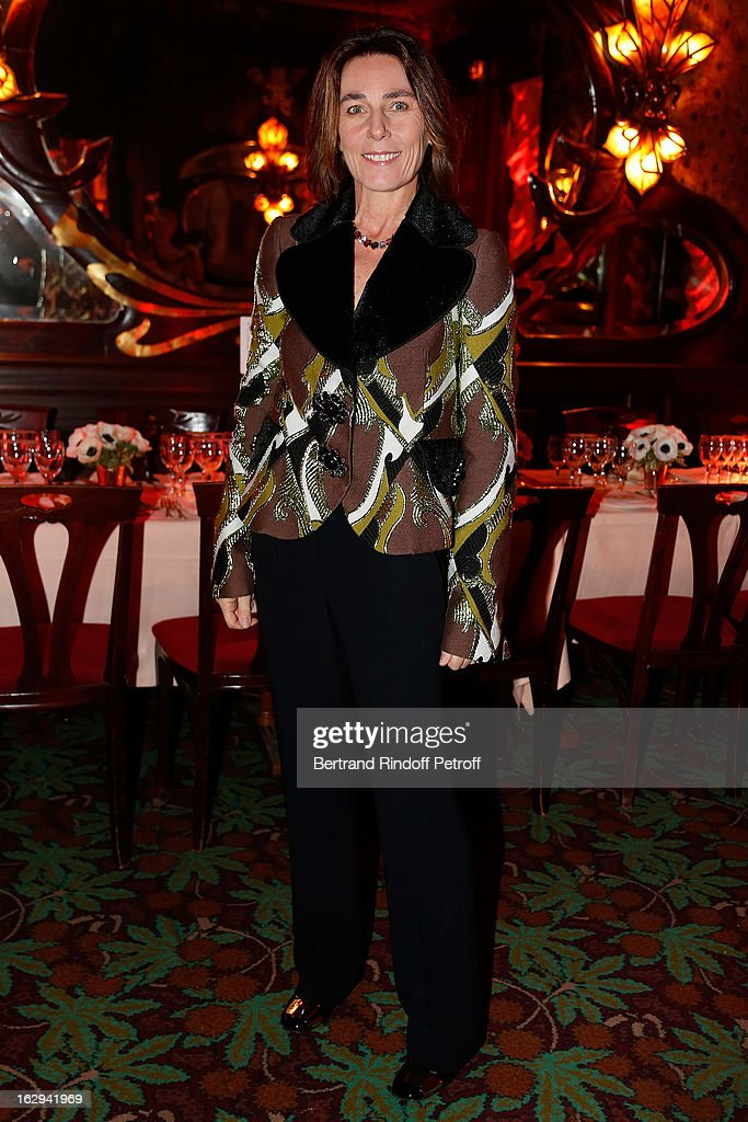 Princess Alessandra Borghese attend Pierre Pelegry's birthday party at Maxim's on March 1, 2013 in Paris, France.