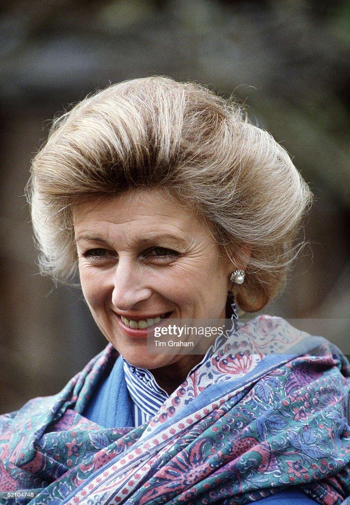 Princess Alexandra At Leeds Castle