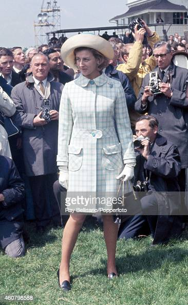 Princess Alexandra attending the Epsom Derby in Surrey on 4th June 1969