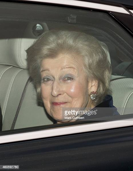 Princess Alexandra attends a Christmas Lunch at Buckingham Palace on December 17 2014 in London England