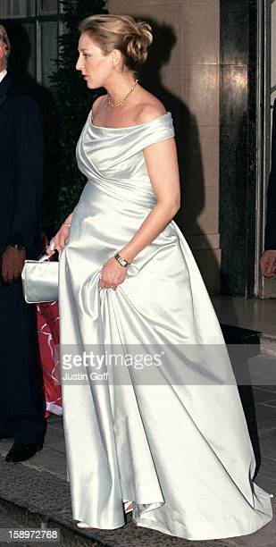 Princess Alexandra Berleburg Attends A Gala At Bridgewater House Prior To The Wedding Of Princess Alexia Of Greece And Carlos Morales Quintana