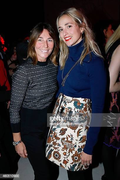 Princess Alexandra Borghese and Princess Elisabeth von Thurn und Taxis attend the Louis Vuitton Montaigne Store ReOpening party at Louis Vuitton...