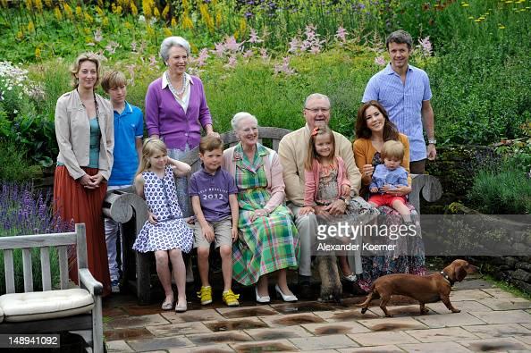 Princess Alexandra Count Richard Countess Ingrid Princess Benedikte Prince Christian Queen Margrethe II Prince Henrik Princess Isabella Prince...
