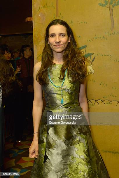 Princess Alexandra of Greece attends the Gucci beauty launch event hosted by Frida Giannini on June 4 2014 in New York City