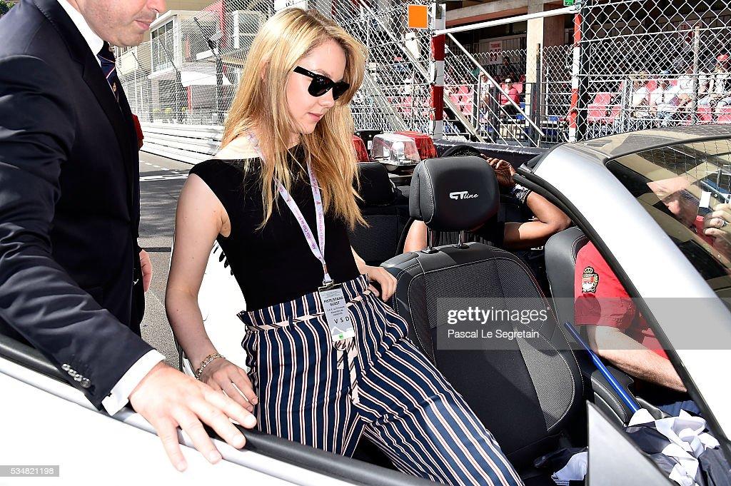 Princess Alexandra of Hanover attends the F1 Grand Prix of Monaco - Practice on May 28, 2016 in Monte-Carlo, Monaco.