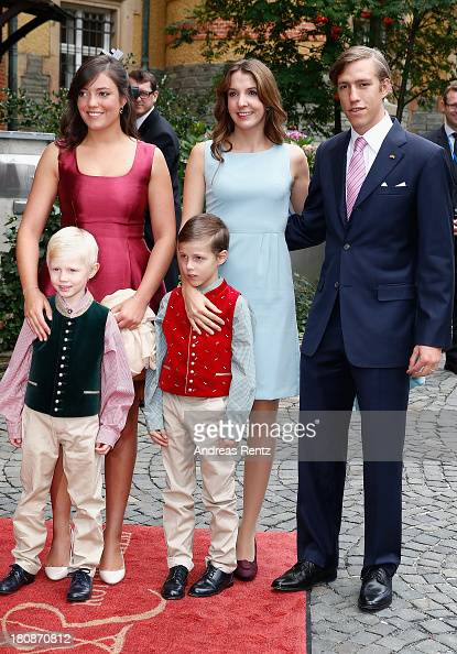 Princess Alexandra of Luxembourg Princess Tessy of Luxembourg Prince Louis of Luxembourg Prince Noah of Luxmebourg and Prince Gabriel of Luxembourg...