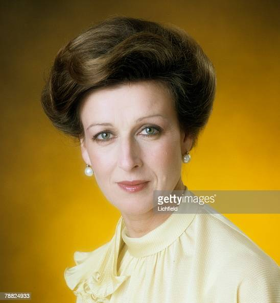 HRH Princess Alexandra photographed in the Studio on 1st July 1974