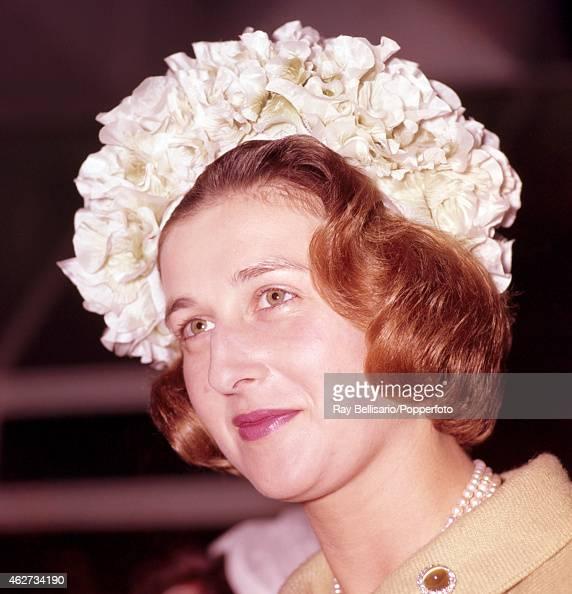 Princess Alexandra visiting the Masonic School for Girls in Rickmansworth Hertfordshire on 1st June 1961