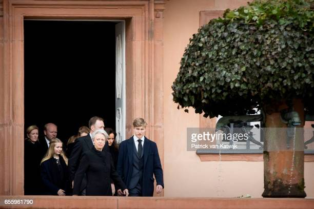Princess Alexandra zu SaynWittgensteinBerleburg Alexander Johannsmann Countess Ingrid Princess Benedikte of Denmark Prince Gustav zu...