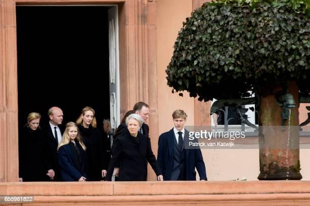 Princess Alexandra zu SaynWittgensteinBerleburg Alexander Johannsmann Countess Ingrid Princess Nathalie zu SaynWittgensteinBerleburg Princess...