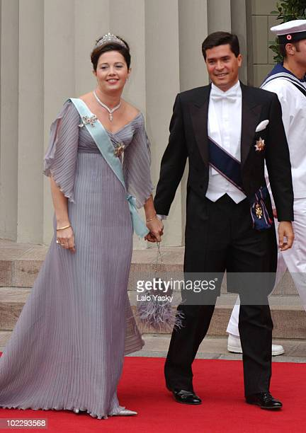 Princess Alexia of Greece and Carlos Morales