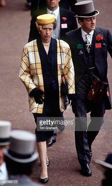 Princess Anne At Royal Ascot With Her Friend Andrew Parkerbowles