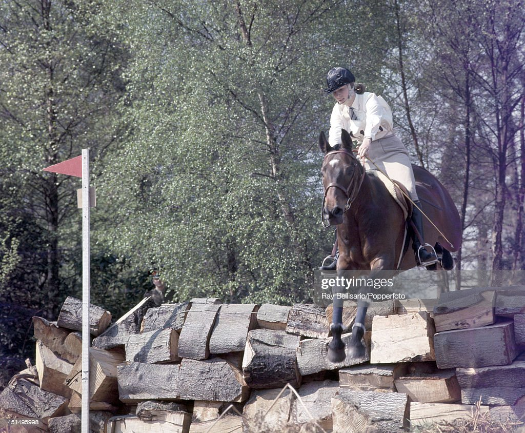 Princess Anne Competing In The Royal Windsor Horse Trials At Home Park On 26th