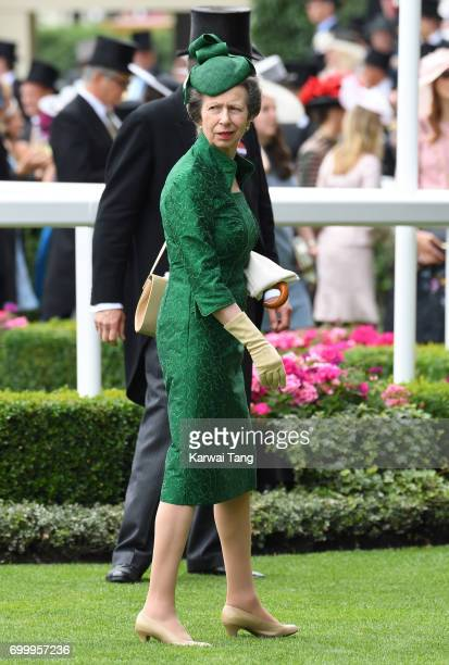 Princess Anne Princess Royal attends Ladies Day of Royal Ascot 2017 at Ascot Racecourse on June 22 2017 in Ascot England