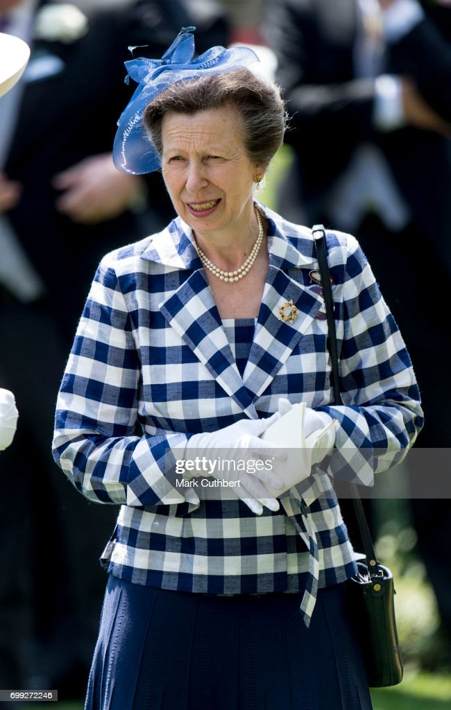 Princess Anne, Princess Royal attends Royal Ascot 2017 at Ascot Racecourse on June 21, 2017 in Ascot, England.