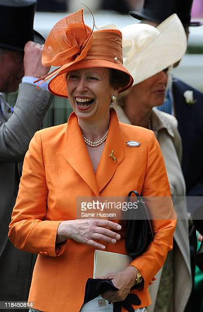 Princess Anne Princess Royal attends the first day of Royal Ascot 2009 at Ascot Racecourse on June 16 2009 in Ascot England