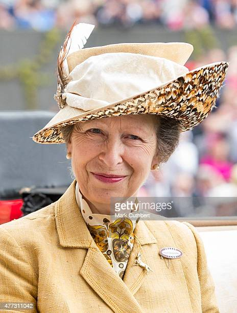 Princess Anne Princess Royal on day 1 of Royal Ascot at Ascot Racecourse on June 16 2015 in Ascot England