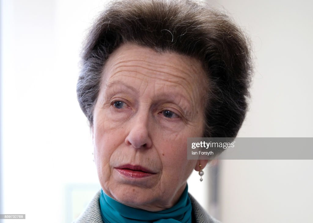 Princess Royal Visits Hambleton Equine Clinic