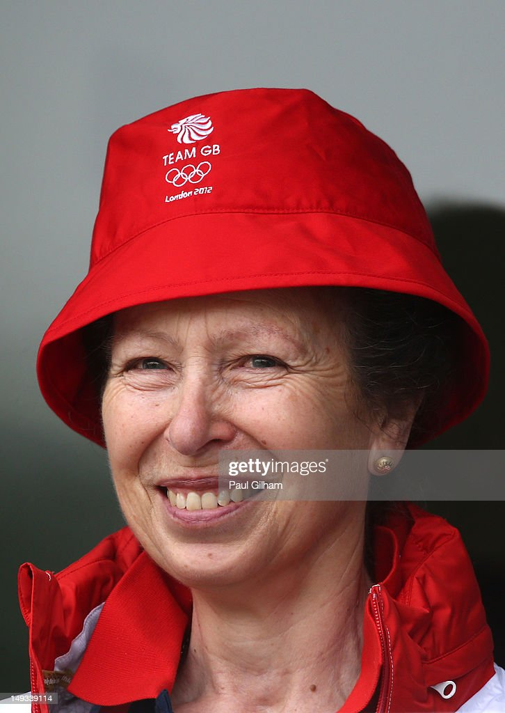 <a gi-track='captionPersonalityLinkClicked' href=/galleries/search?phrase=Princess+Anne+-+Princess+Royal&family=editorial&specificpeople=11706204 ng-click='$event.stopPropagation()'>Princess Anne</a>, Princess Royal watches on during the Archery Ranking Round on Olympics Opening Day as part of the London 2012 Olympic Games at the Lord's Cricket Ground on July 27, 2012 in London, England.