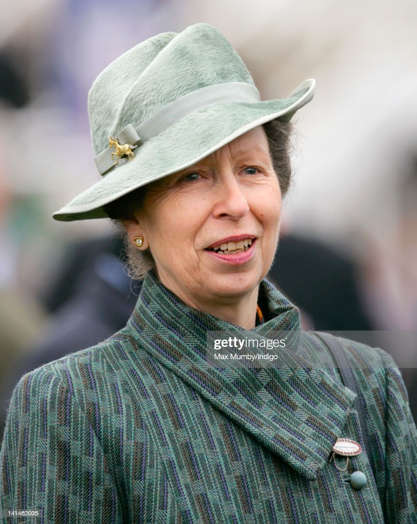 <a gi-track='captionPersonalityLinkClicked' href=/galleries/search?phrase=Princess+Anne+-+Princess+Royal&family=editorial&specificpeople=11706204 ng-click='$event.stopPropagation()'>Princess Anne</a>, The Princess Royal attends 'Gold Cup Day' on day 4 of the Cheltenham Horse Racing Festival at Cheltenham Racecourse on March 16, 2012 in Cheltenham, England.