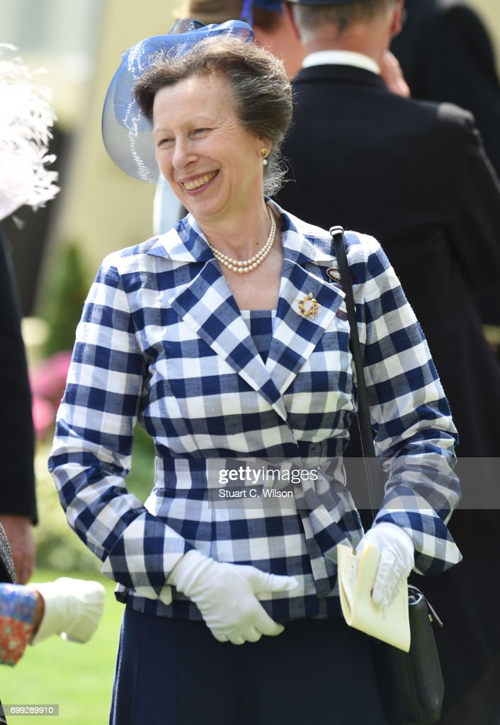 Princess Anne, the Princess Royal attends Royal Ascot 2017 at Ascot Racecourse on June 21, 2017 in Ascot, England.